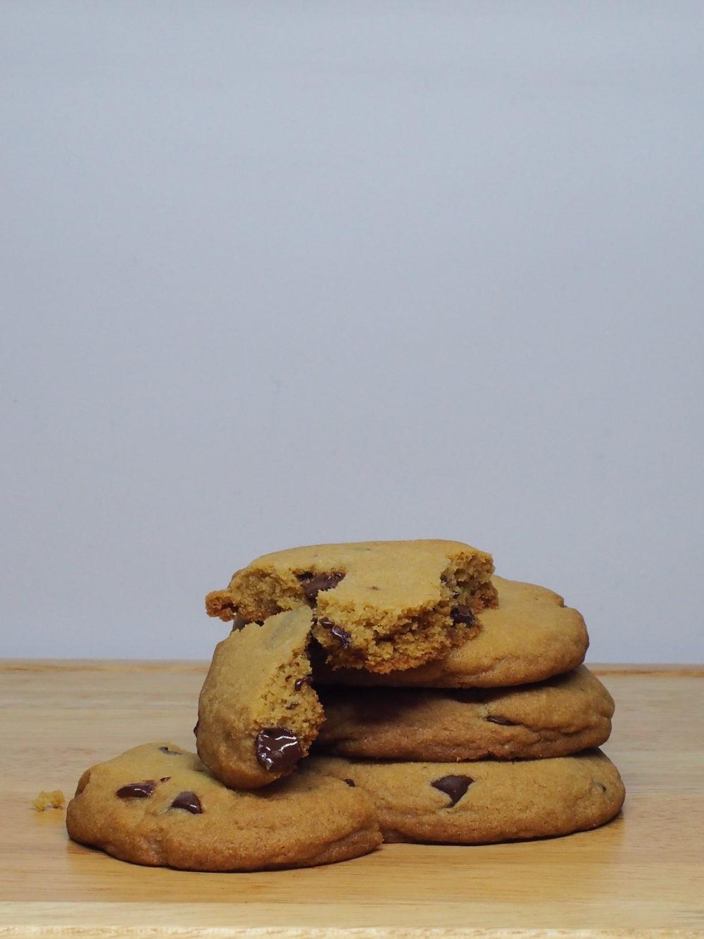 Chocolate Chip Cookies Broken