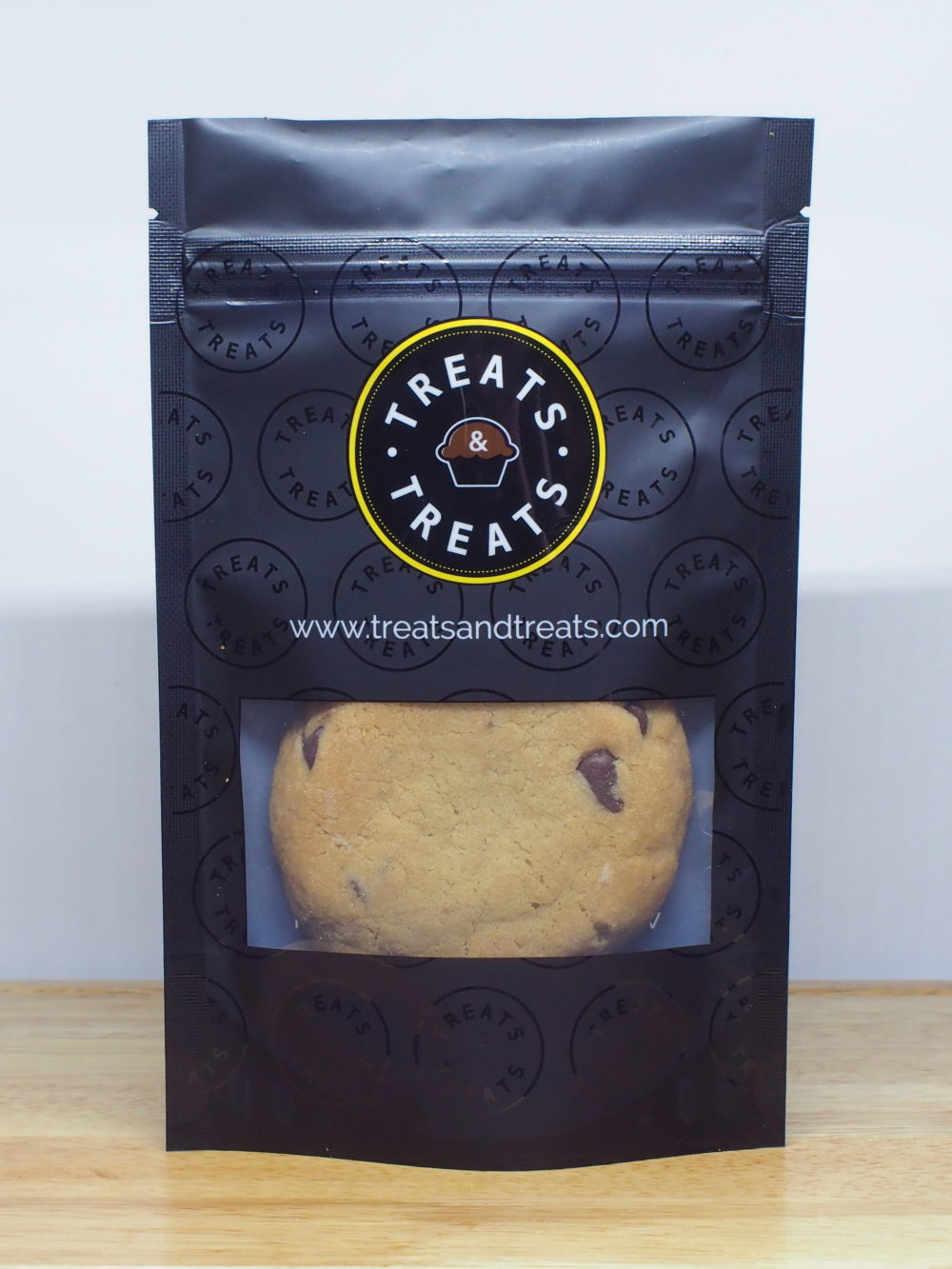 Chocolate Chip Cookies Packaged