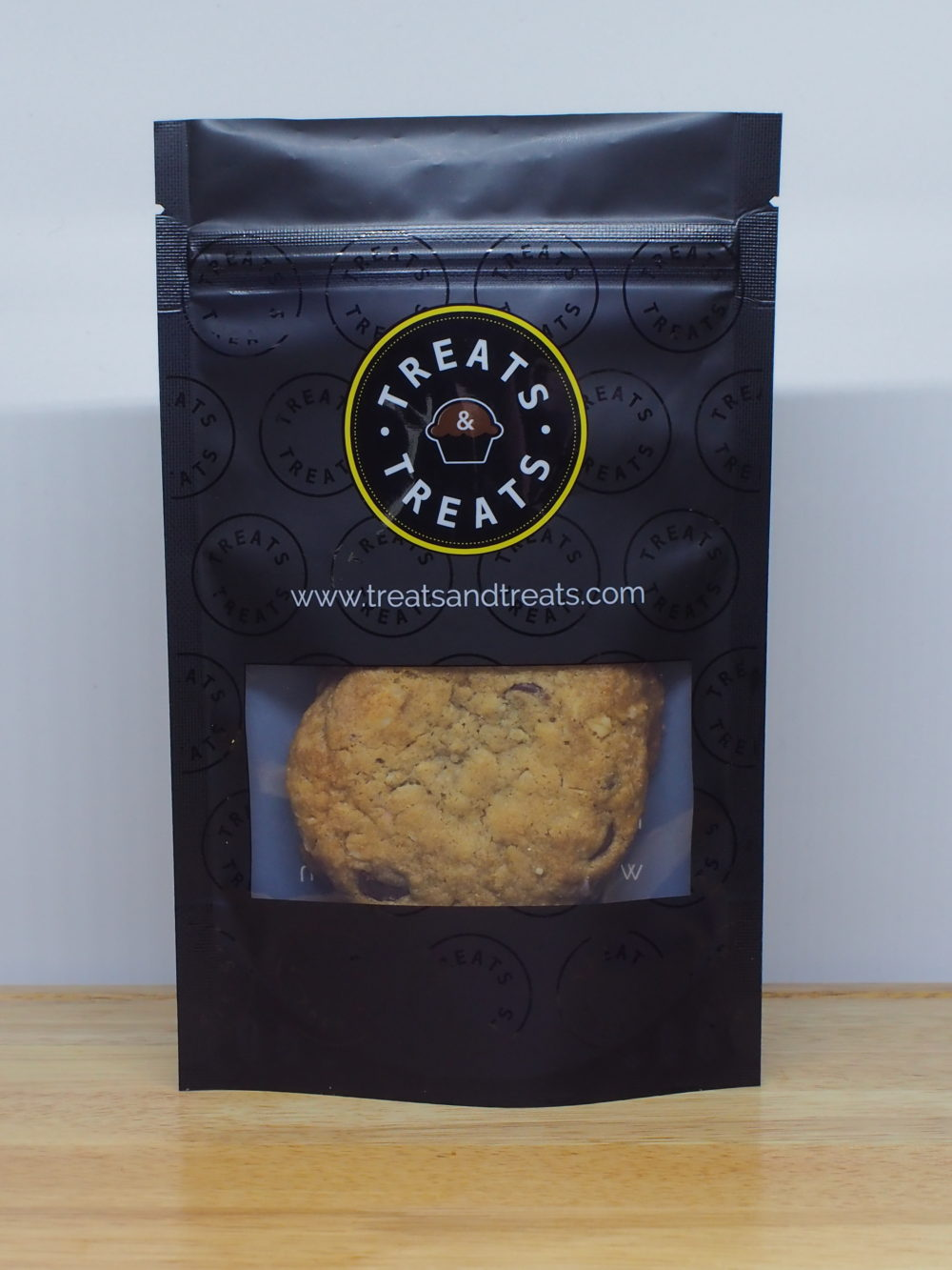 Oatmeal Chocolate Chip Cookie Packaged