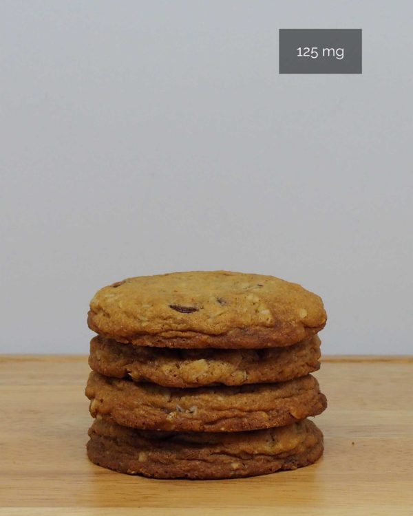 treatsandtreats medicinal oatmeal chocolate chip cookie